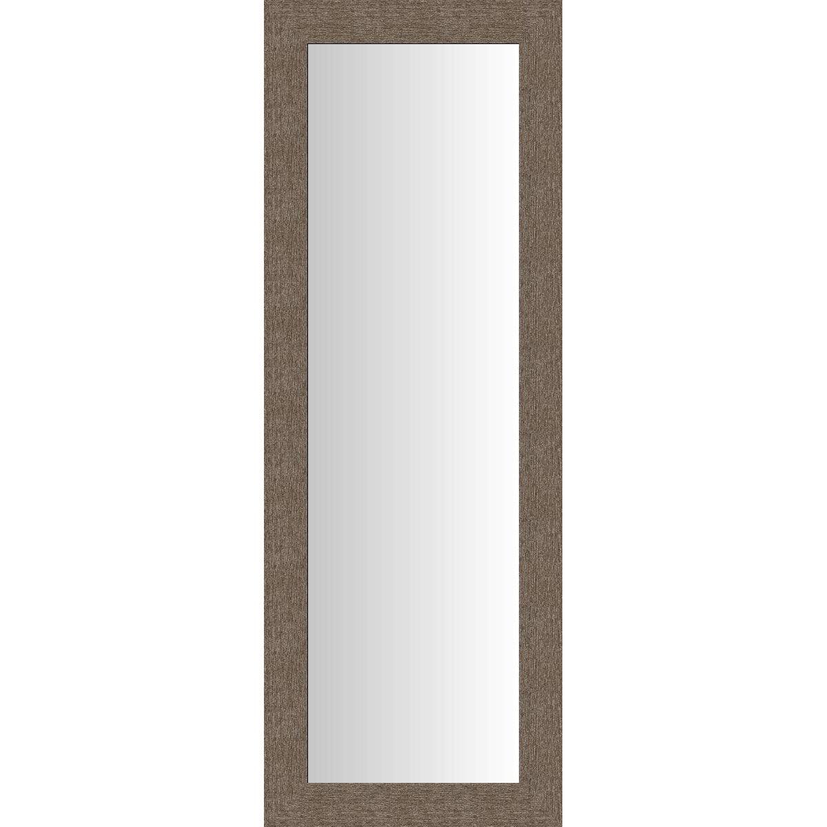 Miroir dublin brun 40x140 cm leroy merlin for Miroir trumeau leroy merlin
