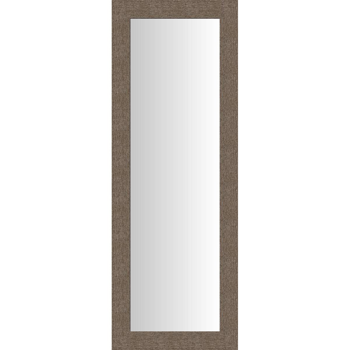 Miroir dublin brun 40x140 cm leroy merlin for Miroir autocollant leroy merlin