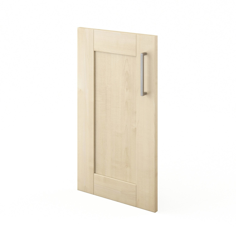 Porte de cuisine blanc f40 ines l40 x h70 cm leroy merlin - Leroy merlin porte de cuisine ...
