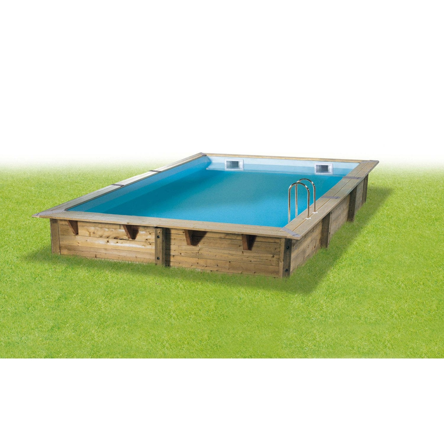 Destockage piscine bois for Piscine bois destockage