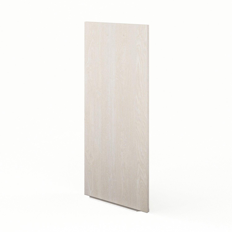 Porte de cuisine d cor bois f40 92 nordik x cm - Porte facade cuisine leroy merlin ...