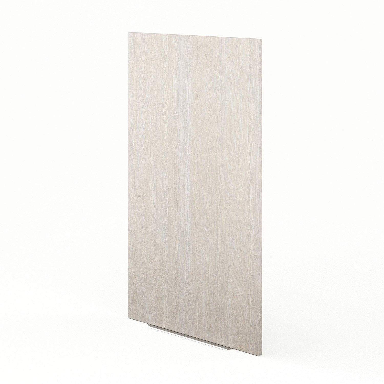 porte de cuisine d cor bois f50 92 nordik x cm. Black Bedroom Furniture Sets. Home Design Ideas