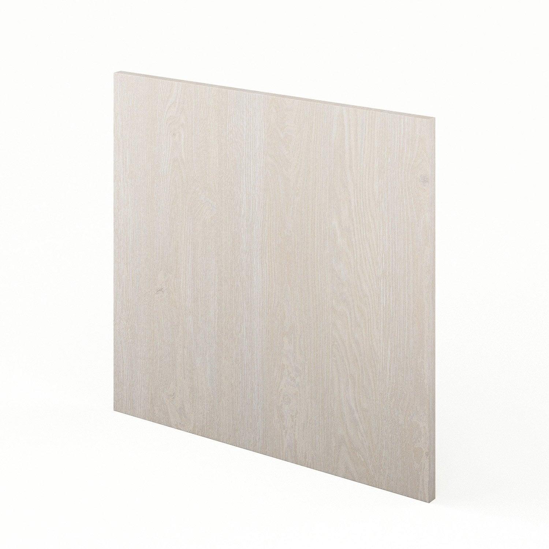 Plinthe de cuisine décor bois plinthe nordik, l.270 x h.14.9 cm ...