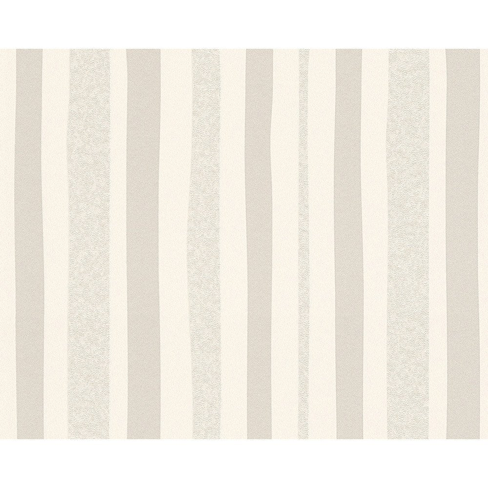 papier peint rayure blanc et gris intiss ap 2000 leroy merlin. Black Bedroom Furniture Sets. Home Design Ideas