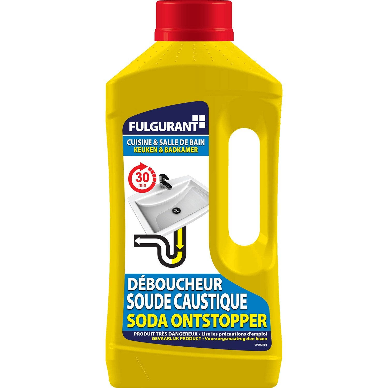 D boucheur soude liquide fulgurant sanitaire 1 leroy merlin for Leroy merlin sanitaire