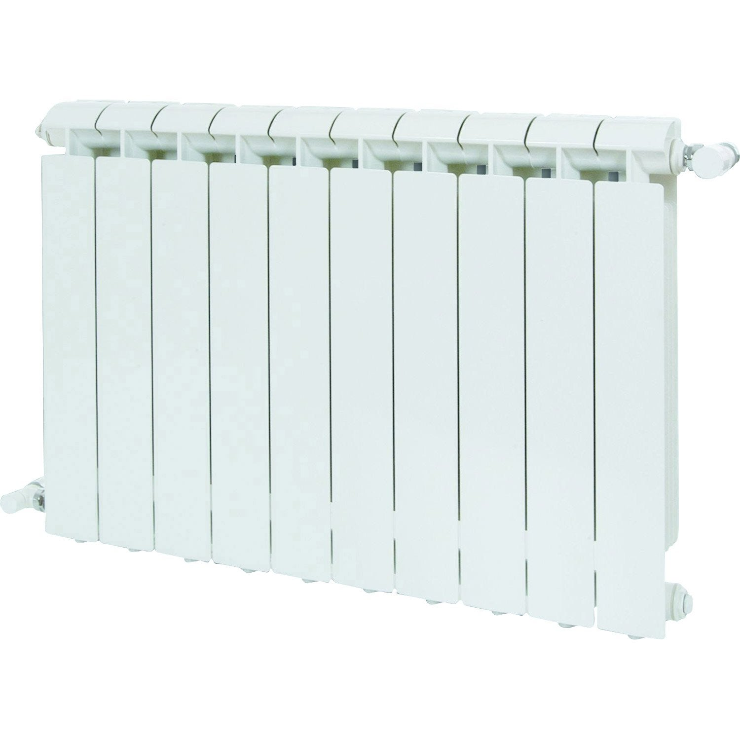 radiateur chauffage central klass blanc cm 1584 w leroy merlin. Black Bedroom Furniture Sets. Home Design Ideas