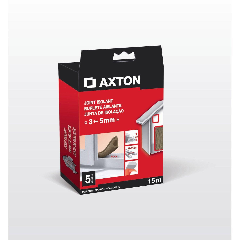 Joint de porte et fen tre universel axton de 3 5 mm x 15 - Fenetre coulissante leroy merlin ...