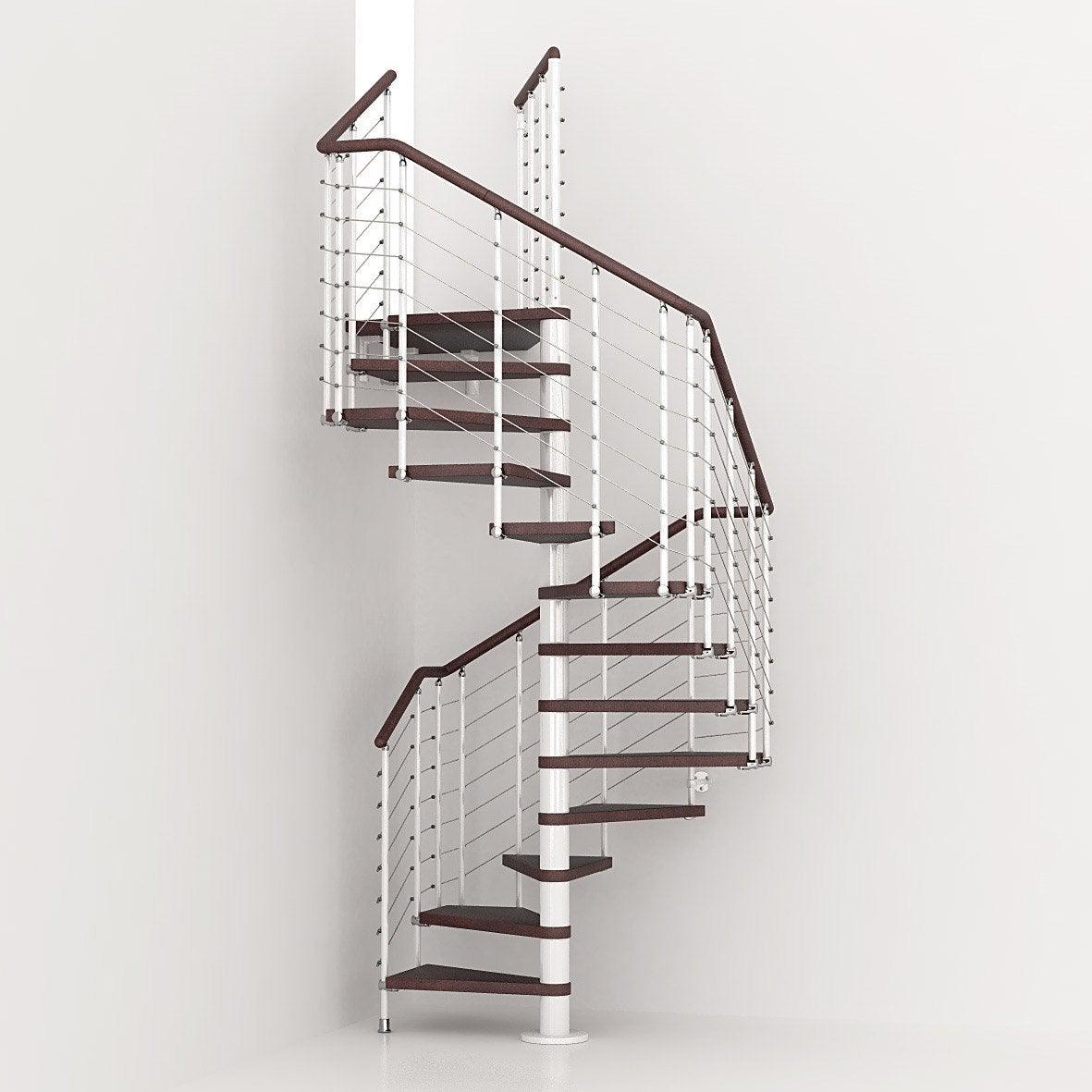 escalier colima on carr cubeline structure m tal marche bois leroy merlin. Black Bedroom Furniture Sets. Home Design Ideas