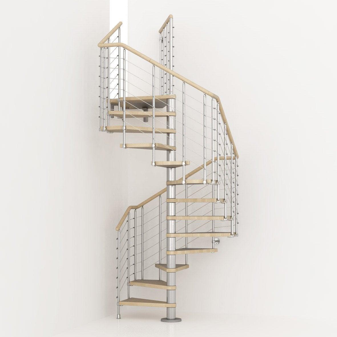 Escalier colima on carr cubeline structure m tal marche - Marche pied bois leroy merlin ...