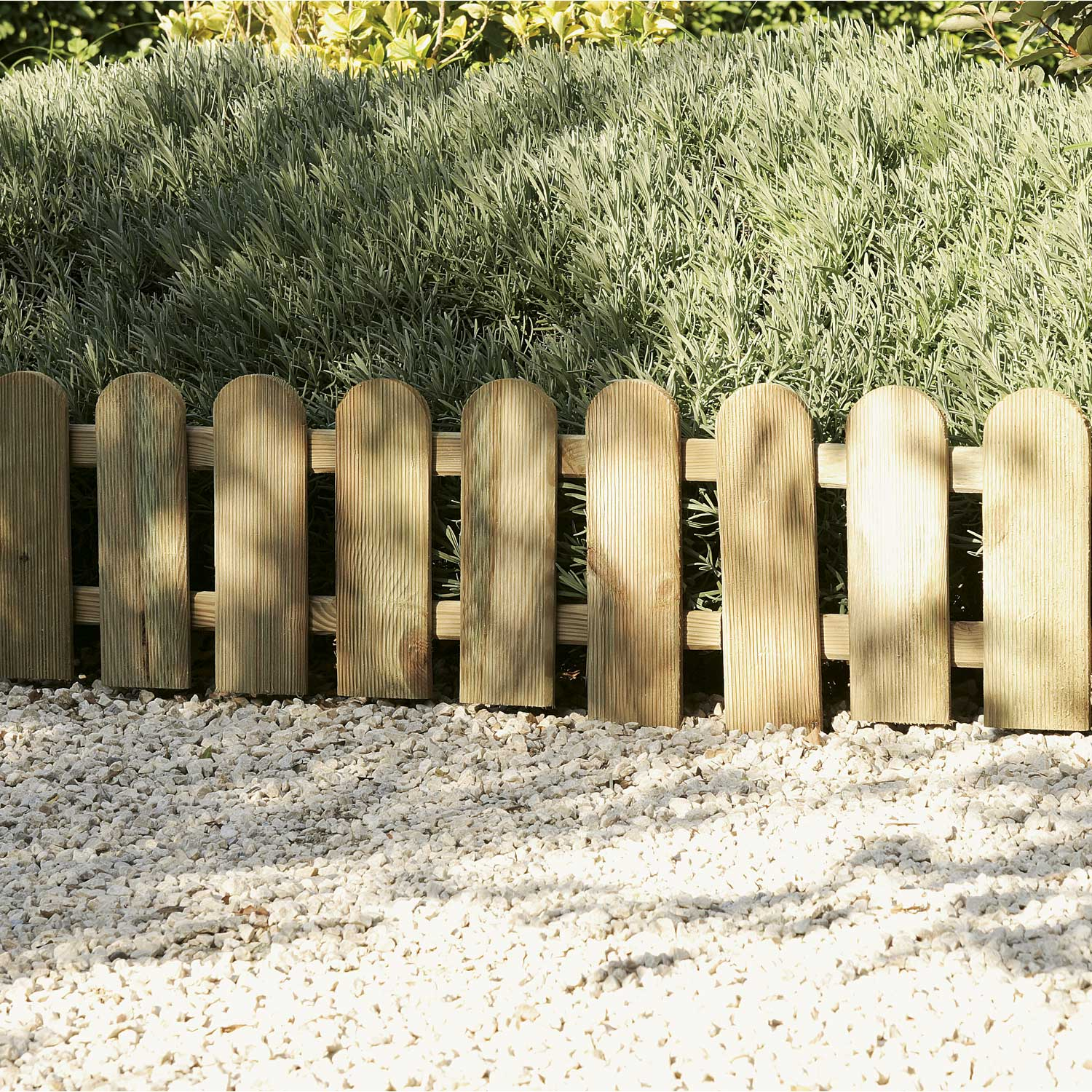 Cl ture grillage rigide pas cher for Bordure en bois de jardin