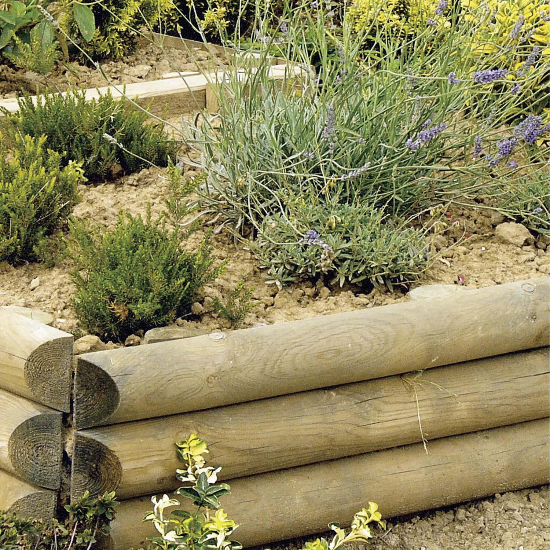 retenue-de-terre-a-planter-sauvage-bois-naturel-h-60-00-x-l-110-00-cm Frais De Chalet De Jardin Leroy Merlin Concept