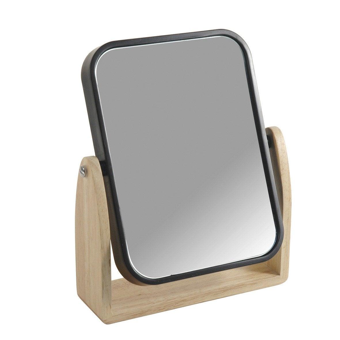 Miroir scandi noir noir 0 leroy merlin - Miroir noir leroy merlin ...