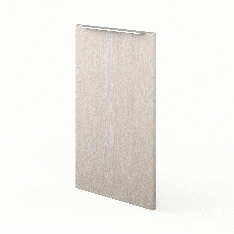 Porte de cuisine d cor bois nordik x cm leroy for Porte 70 cm de large