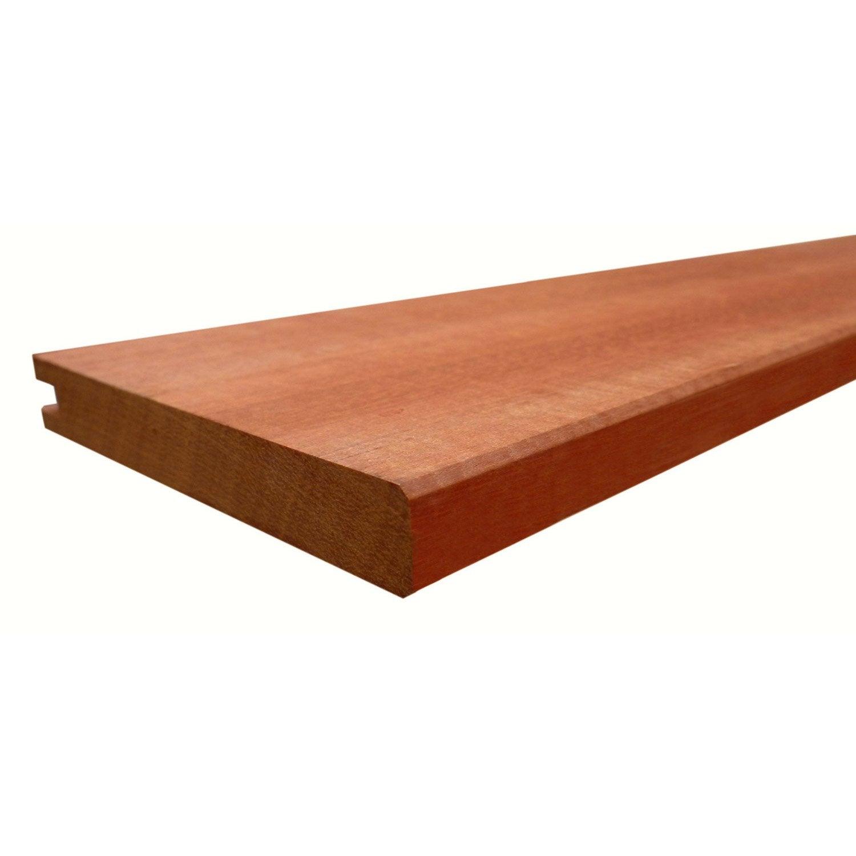 lame bois embo ter akola naturel x cm x mm leroy merlin. Black Bedroom Furniture Sets. Home Design Ideas
