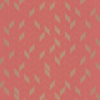 papier peint g om trique corail et or intiss shine leroy merlin. Black Bedroom Furniture Sets. Home Design Ideas