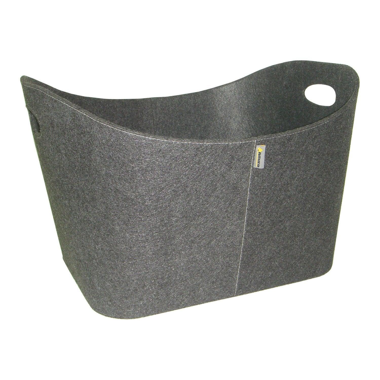 panier b ches feutre gris aduro leroy merlin. Black Bedroom Furniture Sets. Home Design Ideas