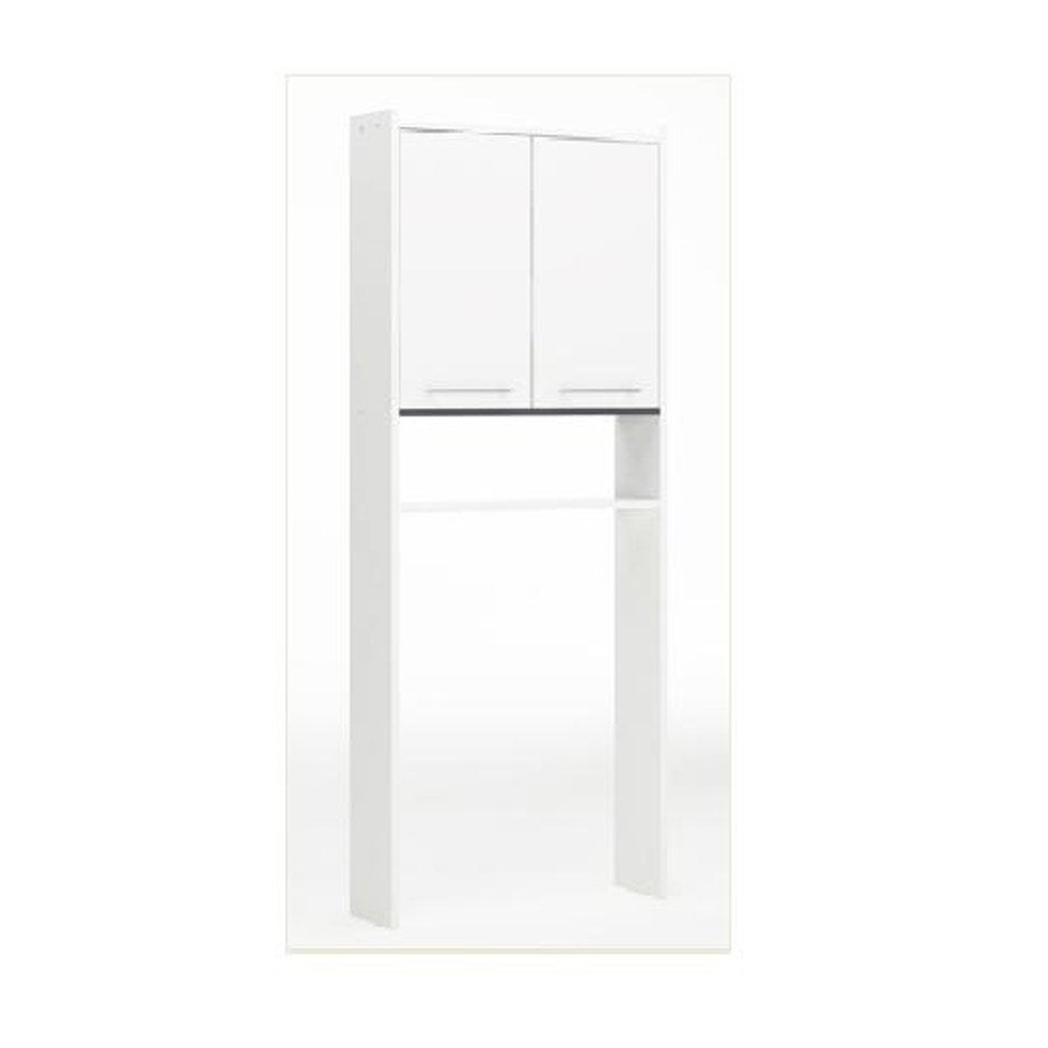 meuble pour wc poser nerea blanc leroy merlin. Black Bedroom Furniture Sets. Home Design Ideas