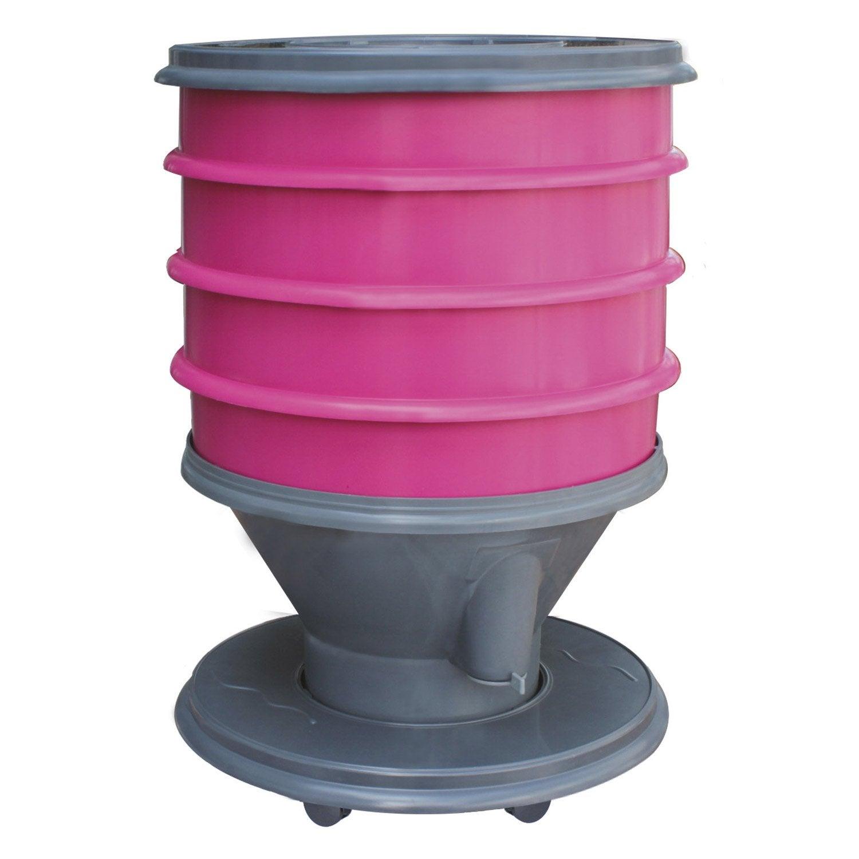 composteur monobloc garantia lombricomposteur eco worms f. Black Bedroom Furniture Sets. Home Design Ideas