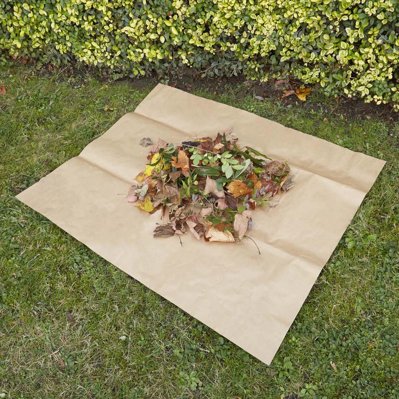 B che compostable geolia carr e 100 x 80 cm marron leroy merlin - Bache wood leroy merlin ...