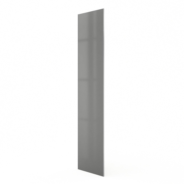 Porte colonne de cuisine gris frost x cm for Colonne cuisine 40 cm