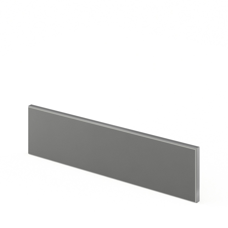 bandeau four de cuisine gris o60 15 frost l60 x h15 cm leroy merlin. Black Bedroom Furniture Sets. Home Design Ideas