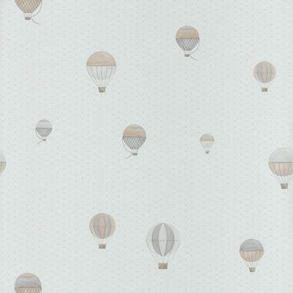 papier peint montgolfiere beige gris intiss little world leroy merlin. Black Bedroom Furniture Sets. Home Design Ideas
