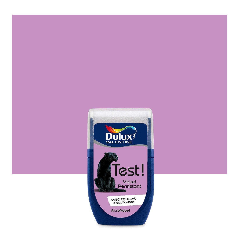Testeur peinture violet persistant dulux valentine color resist l leroy merlin - Dulux valentine color resist ...