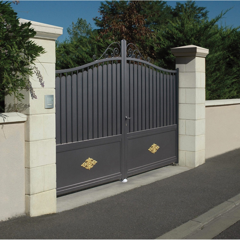 pilier complet tradition saintonge imit pierre beige x x cm leroy merlin. Black Bedroom Furniture Sets. Home Design Ideas