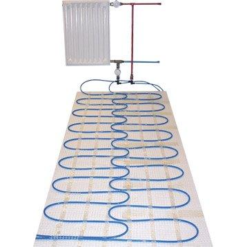 kit de de plancher chauffant eau chaude howatech aquaduo leroy merlin. Black Bedroom Furniture Sets. Home Design Ideas