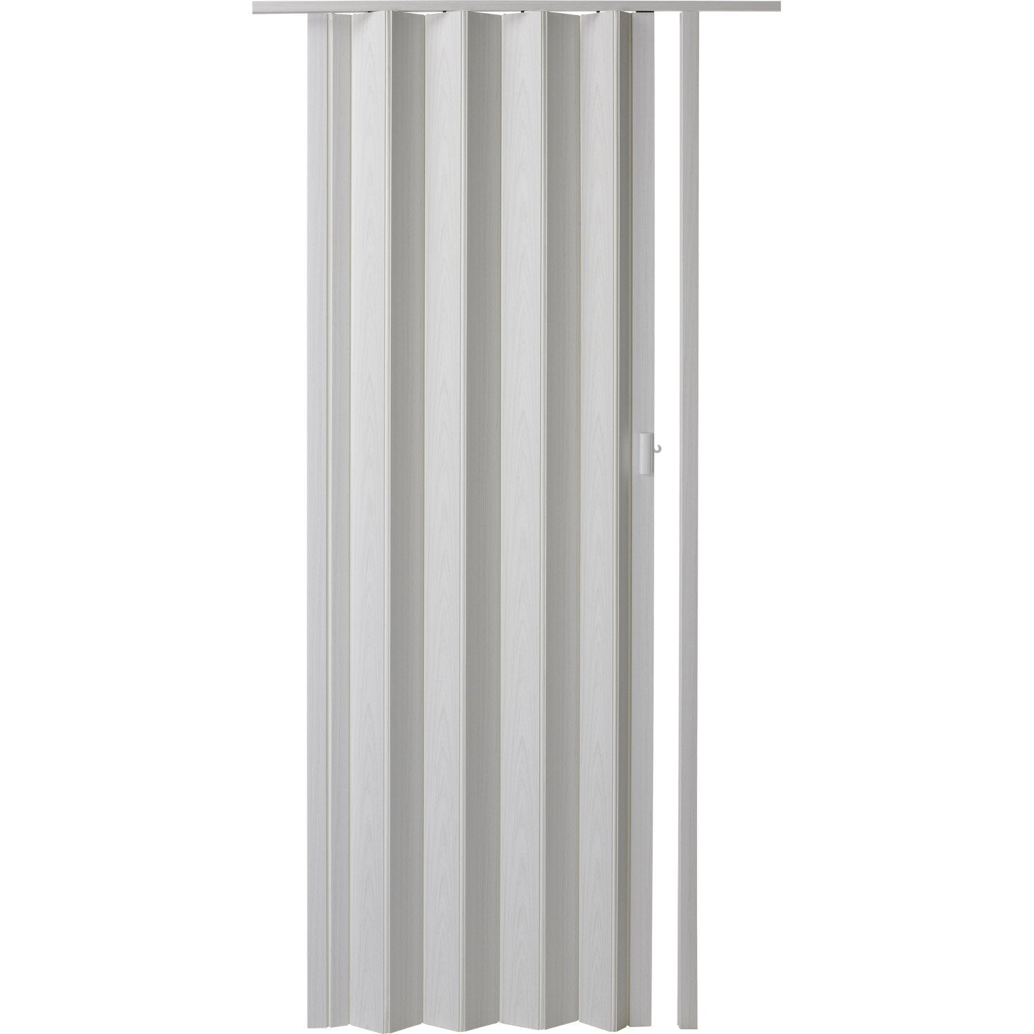 Porte extensible rio fr ne blanc 205 x 85 cm pais d for Porte accordeon