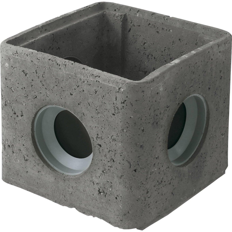 Regard b ton rmj 30 joints incorpor s 300x300x290mm legouez leroy merlin - Tarif toupie beton leroy merlin ...
