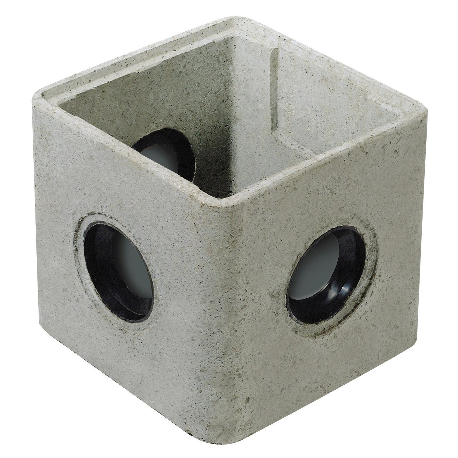 Regard joints incorpor s rmj25 b ton x mm for Rehausse beton 50x50 castorama