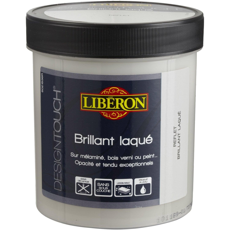 Peinture à effet, laqué, LIBERON Design touch, iceberg, 0.5 l ...