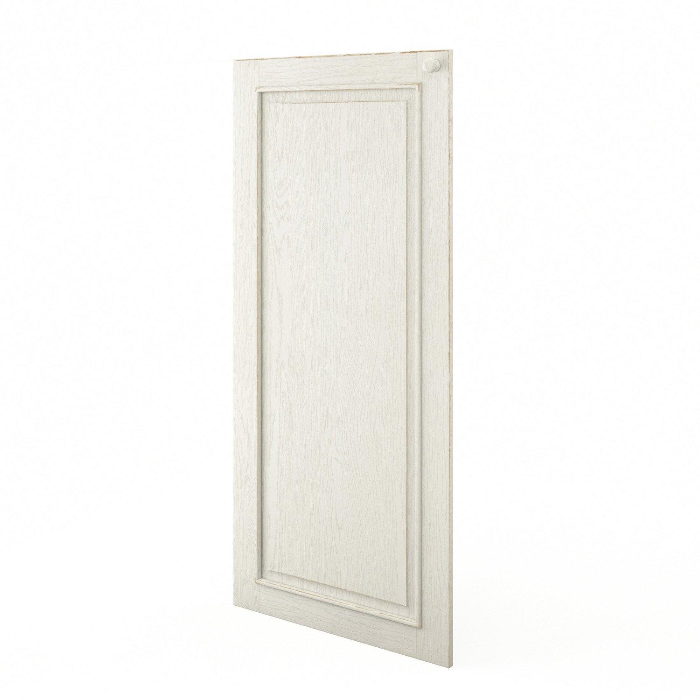 Porte 1 2 colonne de cuisine blanc cosy x cm for Porte 60 x 180