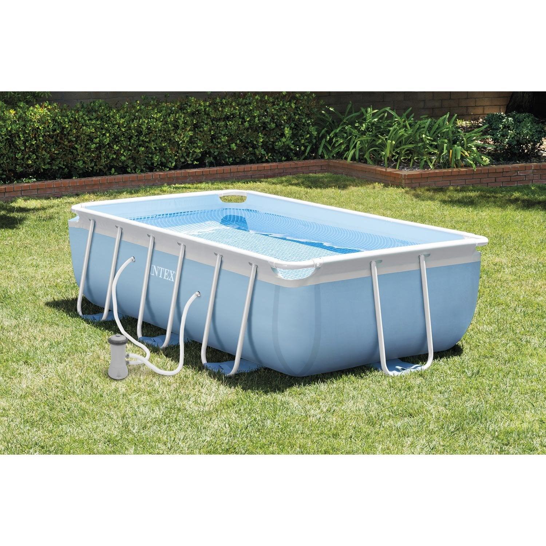 piscine hors sol autoportante tubulaire prism intex l 3 4. Black Bedroom Furniture Sets. Home Design Ideas