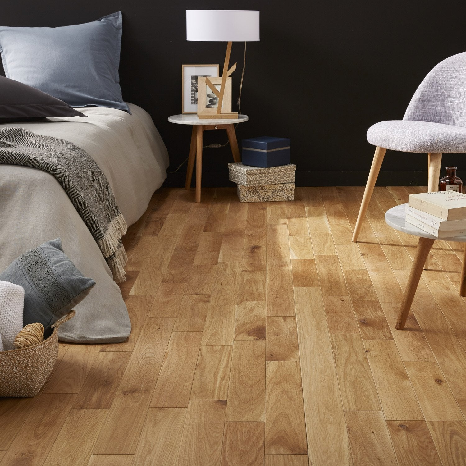 parquet massif ch ne blond huil s artens massif leroy merlin. Black Bedroom Furniture Sets. Home Design Ideas