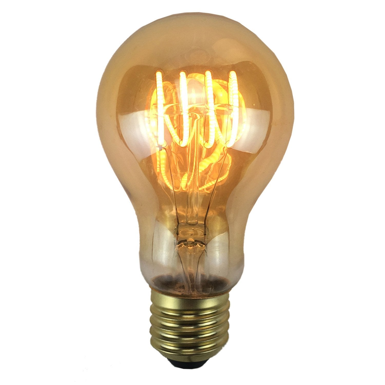 ampoule filament led e27 4w 240lm quiv 35w 2200k leroy merlin. Black Bedroom Furniture Sets. Home Design Ideas