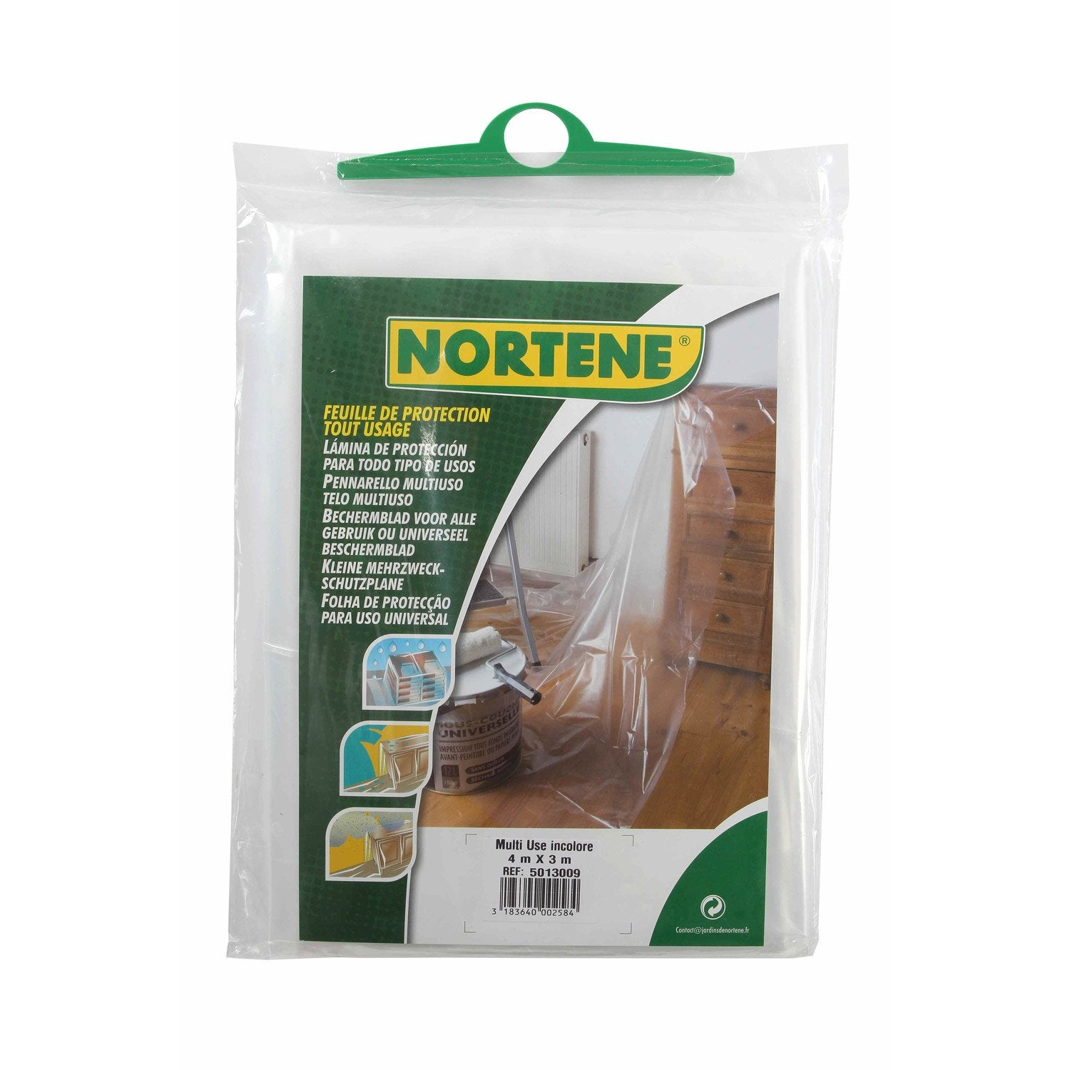 Feuille protection bricolage nortene leroy merlin - Feuille de stratifie a coller leroy merlin ...