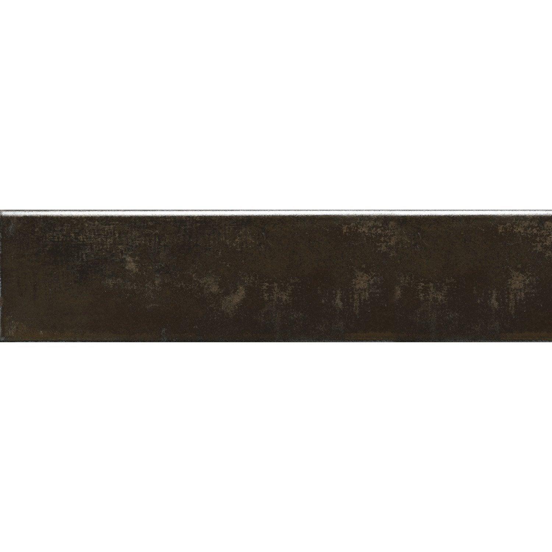 3 plinthes m tal vieilli 8 x 33 3 cm leroy merlin. Black Bedroom Furniture Sets. Home Design Ideas
