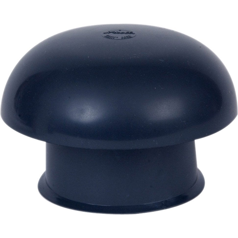 chapeau de ventilation pvc girpi gris ardoise diam 100 mm leroy merlin. Black Bedroom Furniture Sets. Home Design Ideas