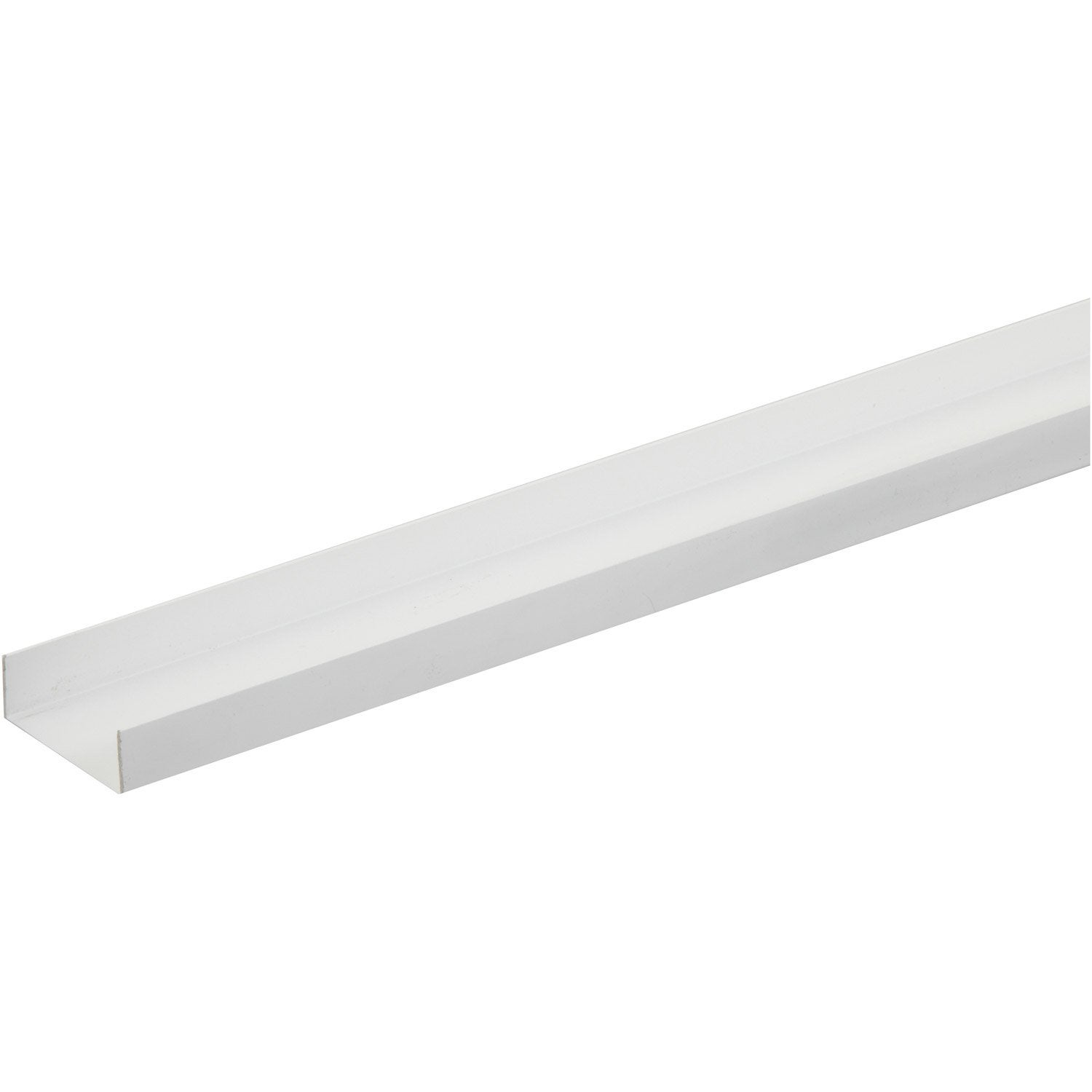 Nez de cloison profil en pvc long 250cm section 54x1mm for Leroy merlin cloison