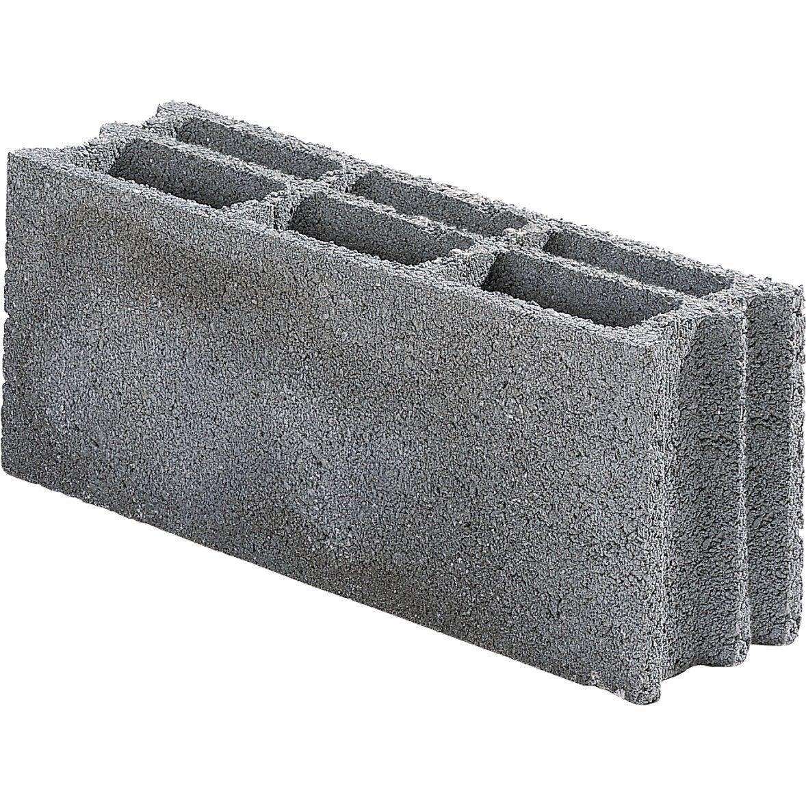parpaing bancher 15x20x50 cm leroy merlin. Black Bedroom Furniture Sets. Home Design Ideas