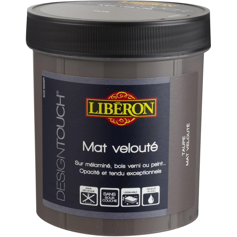 Peinture effet design touch liberon bleu design 0 5 l leroy merlin - Peinture a essuyer liberon ...