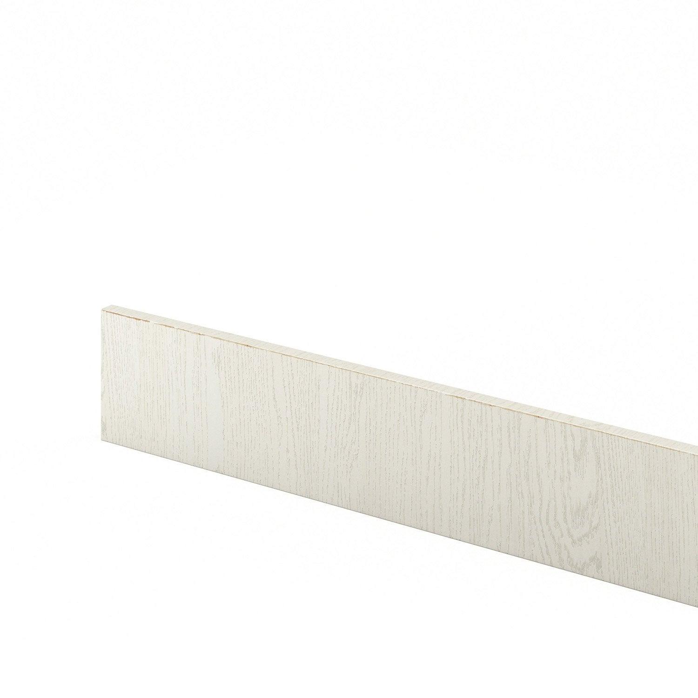 Plinthe de cuisine blanc cosy x cm leroy merlin - Plinthe meuble cuisine leroy merlin ...