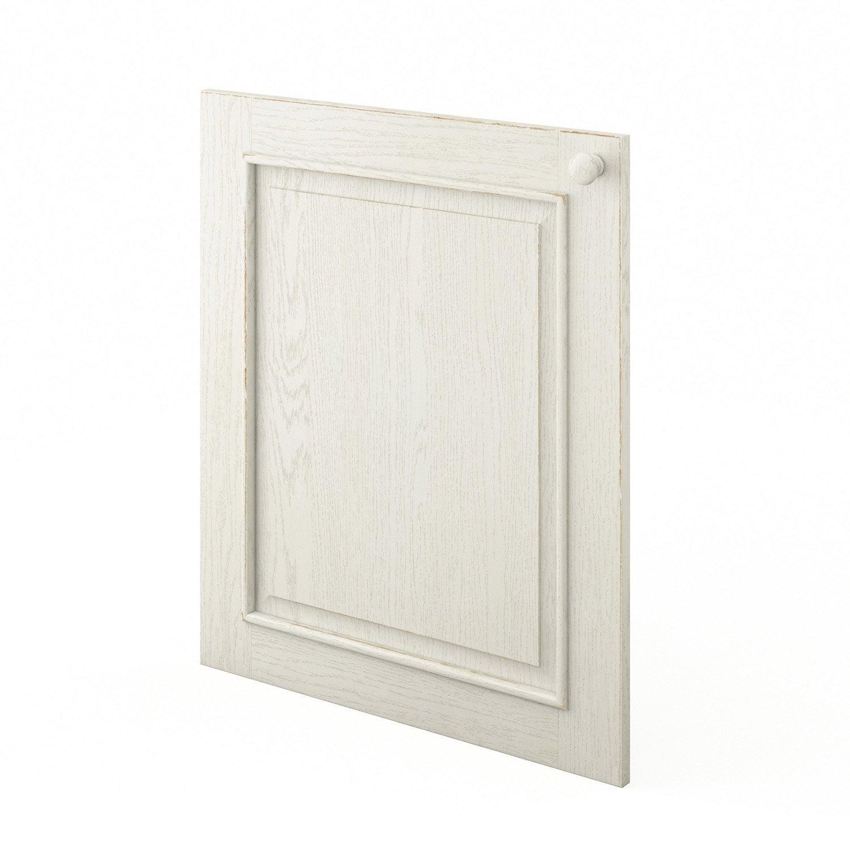 Porte de cuisine blanc cosy x cm leroy merlin for Porte 60 x 50