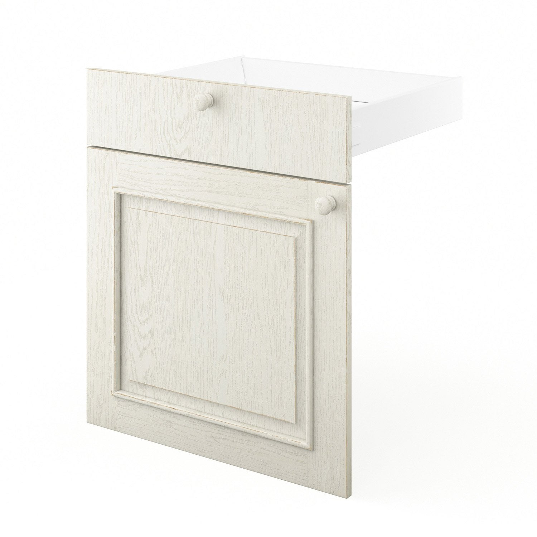 Porte et tiroir de cuisine blanc cosy x x for Porte 60 x 70