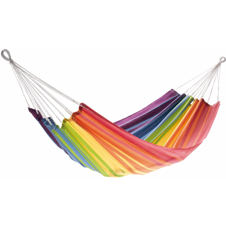 toile de hamac joia jobek multicolore leroy merlin. Black Bedroom Furniture Sets. Home Design Ideas