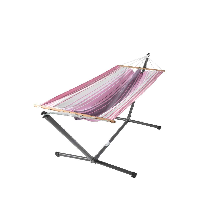 support et toile de hamac latina jobek ray rose leroy merlin. Black Bedroom Furniture Sets. Home Design Ideas