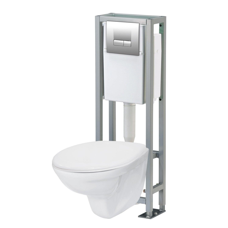 pack wc suspendu bti sol siamp actua with wc avec lavabo intgr leroy merlin. Black Bedroom Furniture Sets. Home Design Ideas