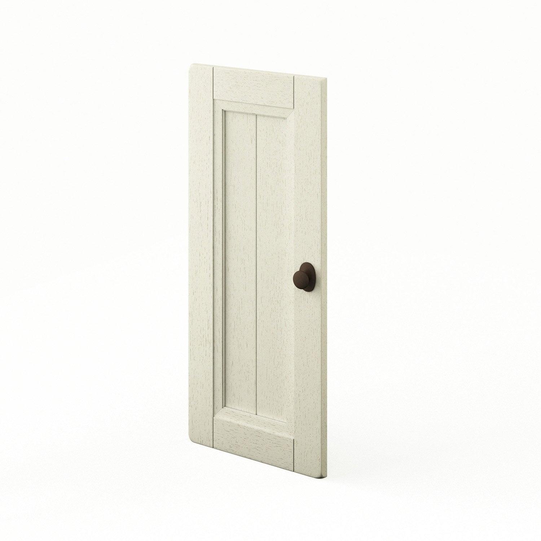 Porte de cuisine beige tradition x cm leroy for Porte 70 cm de large